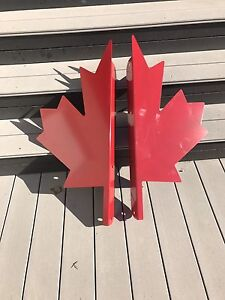 Canadian Flag, Maple Leaf for Driveway