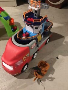 Little tikes trucks and boats