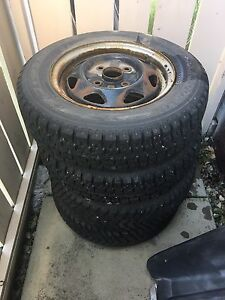 "13"" winter tires full tread. Great shape"