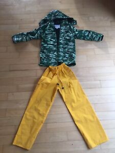 Rain Suits (for kids, Size 7)