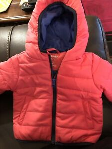 How fresh coral/pink winter jacket