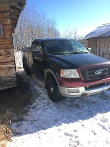 Two Ford F-150s 2005 FX4
