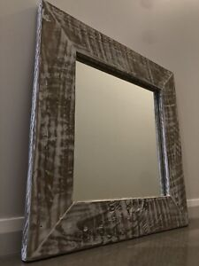 New - Timber Mirror   $50