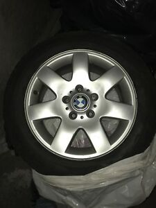"""Summer Tires mounted on 16"""" BMW Mags"""