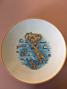 Italian Collector Plate