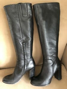 Kenneth Cole Knee High Black Boots