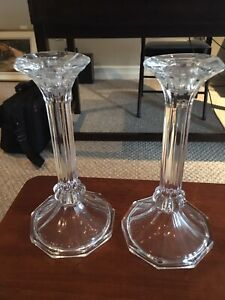 Candle sticks glass