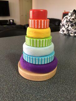 Baby stacking rings