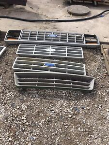 Ford GMC and jeep Grills