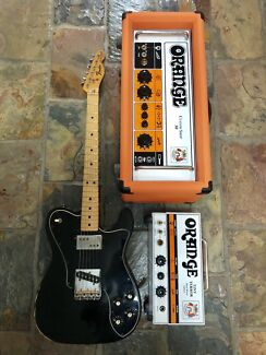 Vintage Fender Telecaster & Orange Custom Shop Amps