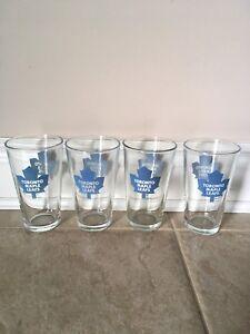 Set of Toronto Maple Leafs Glasses