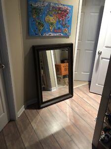 Grand miroir haut de gamme maison Corbeil