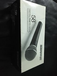 Sure SM58 LCE mic plus 3m and 5m cable and stand