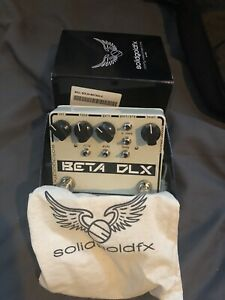 Bass Overdrive/Preamp, Solidgold FX Beta DLX**mint***