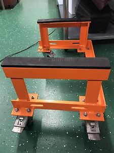 Motor cycle bike stand made for a Harley Davidson