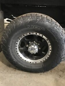 8x6.5 ultra rims and tires