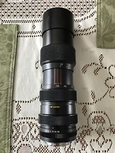 SOLIGOR Macro focus + Zoom Lens 85-205mm 1:3.8 K mount PENTAX K-