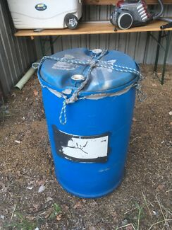 Poly 44 gallon drum