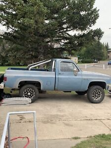 1986 gmc 1500 with new 350 crate  engine