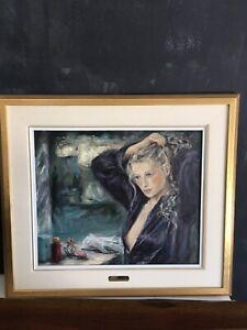 Tableau de l'artiste québécoise Clo Richer