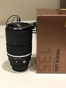 Nikon 135mm F2 DC absolute MINT condition Rhodes Canada Bay Area Preview