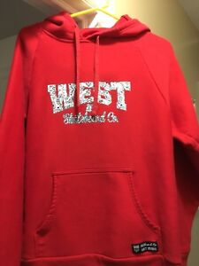 Men's XL West 49 Hoodie MINT shape