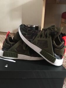NMD XR1 green Olive Camp Size 10.5 (DS)