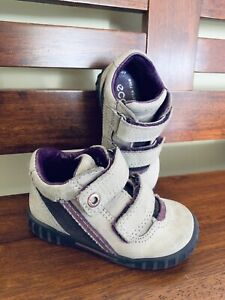 Ecco leather baby shoes
