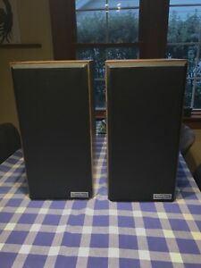 Two Paradigm 7 speakers