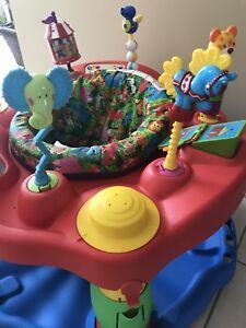 Evenflo baby saucer/jumper