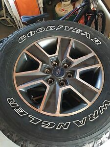"FORD F150 SPORT 18"" WHEELS & TIRES"