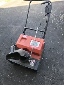 Noma Electric Snowblower