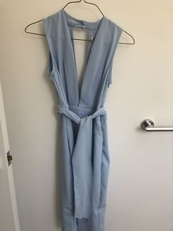White Closet Powder Blue Dress