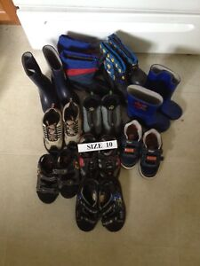 Toddler Size 10 Running Shoes/Rain Boots/Winter Boots