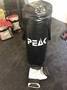 Boxing Bag and Glove