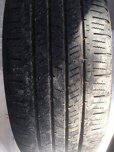4 pneus d'été hankook 225-65-17 bon état