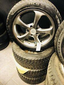 Ensemble de mags acura tl oem avec pneu d'hiver