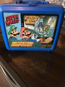 Nintendo power 1989 lunch box