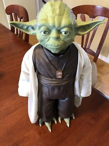 "Jakks Massive Star Wars 20"" YODA Jedi Movie Figure"