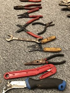 Assorted hand tools for 2$ each