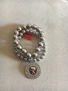 "FAC bracelets Silver OR Gold ""Face the Fun"""