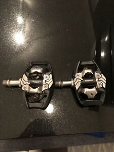 Shimano XT deore mountain bike pedals used once