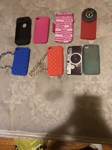 8 mint condition iPhone 4 cases
