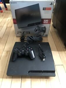 PS3 320gb w box and games