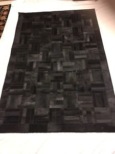 Beautiful Imported Leather Rug