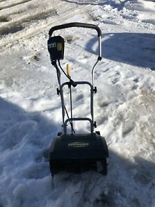 Yard works 10A Electric Snow Thrower