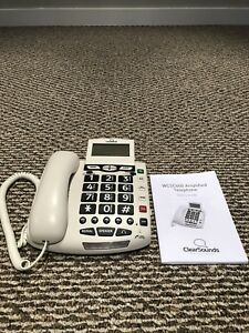 ClearSounds WCSC600 Amplified Big Button Telephone Caller ID
