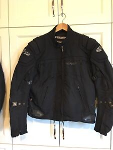 Men's & woman's bike jackets. Lightly worn, in good condition