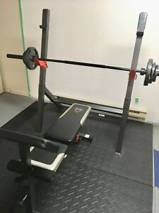EXCELLENT CONDITION Cap Olympic Bench SET