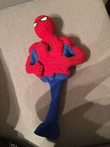 Rare Spider-Man golf head cover